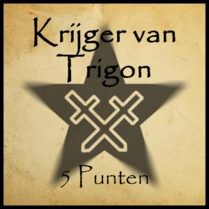 Bonuspunt Krijger van Trigon