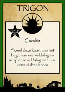 Uitspeelkaart Cavalrie
