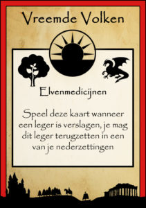 Uitspeelkaart Elvenmedicijnen