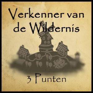 Bonuspunt Verkenner van de Wildernis